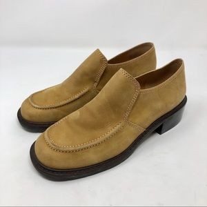 ENZO ANGIOLINI tan/mustard loafer